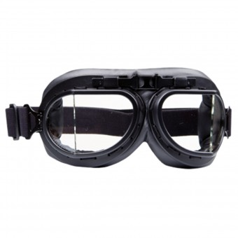Motorcycle Glasses and Goggles Stormer Aviator T08 Matt Black