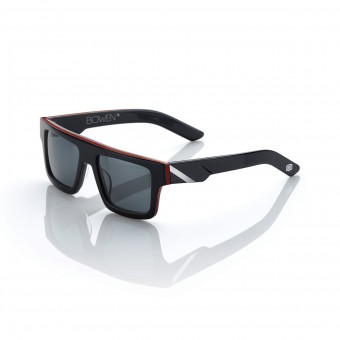 Motorcycle Glasses 100% Bowen Black Red