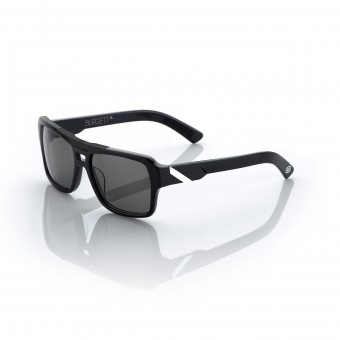 Sunglasses  100% Burgett Black White