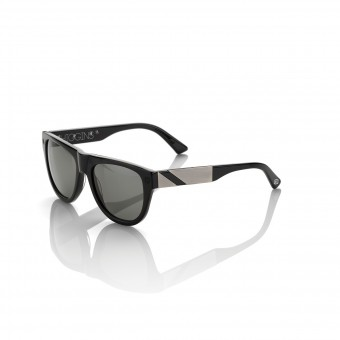 Motorcycle Glasses 100% Higgins Black Alu