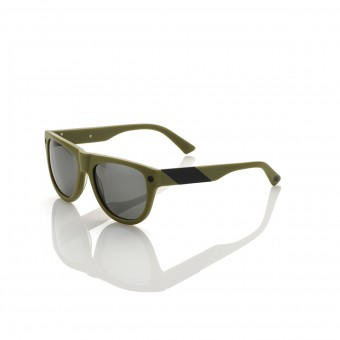 Motorcycle Glasses 100% Higgins Matte Olive Black