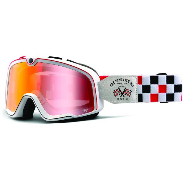 Motorcycle Goggles 100% Barstow Osfa