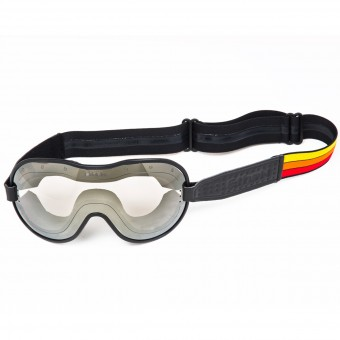 Motorcycle Goggles Ethen Cafe Racer Red Yellow Orange Mask