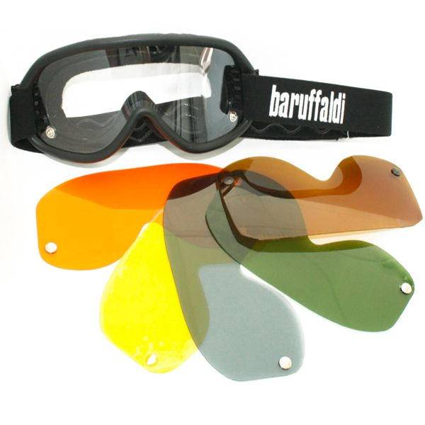 Motorcycle Goggles Baruffaldi Speed 4 Black
