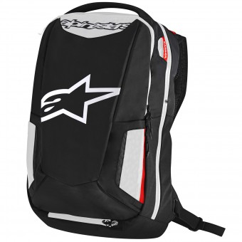 Motorcycle Backpacks Alpinestars City Hunter Backpack Black White Red