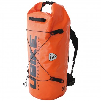 Motorcycle Backpacks UBIKE Cylinder Bag 50 L Orange