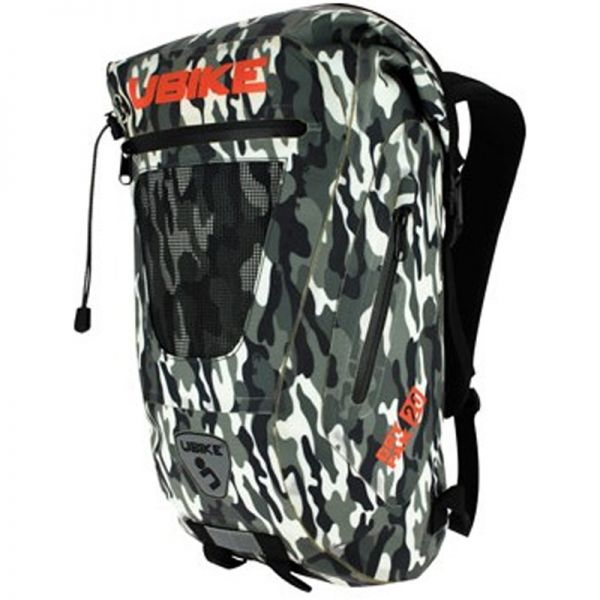 Motorcycle Backpacks UBIKE Easy Pack + 20L Camo