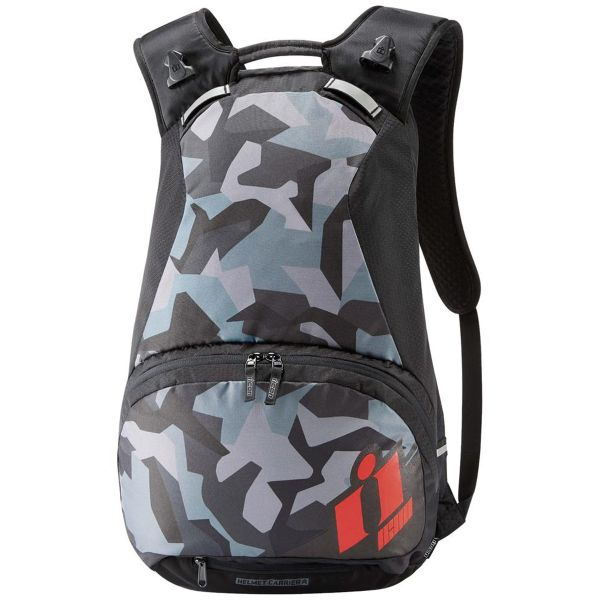 Motorcycle Backpacks ICON Stronghold Red