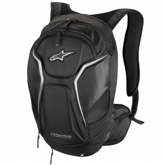 Motorcycle Backpacks Alpinestars Tech Aero Black White