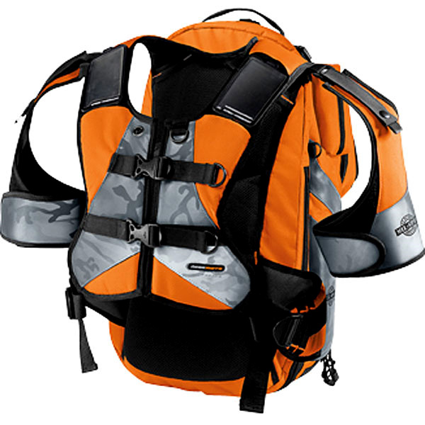 Motorcycle Backpacks ICON Squad II Pack Mil-Spec Orange