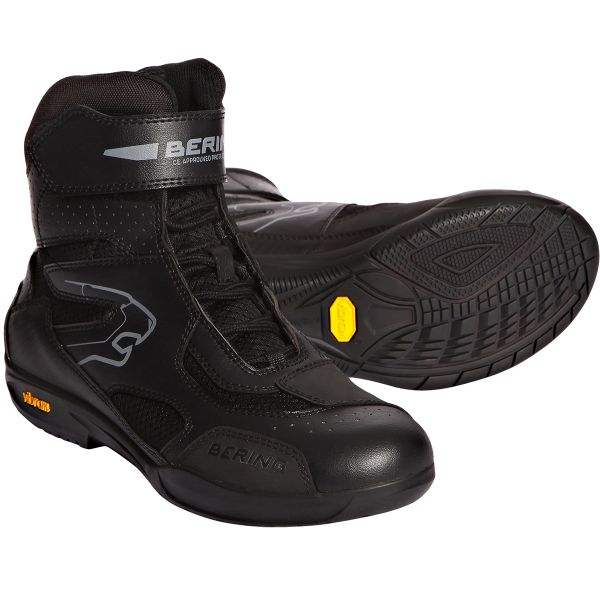 Motorcycle Trainers Bering Mercure Black