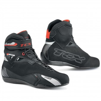 Motorcycle Trainers TCX Rush Waterproof Black