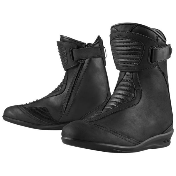 Motorcycle Boots ICON 1000 Eastside Women Boot Black