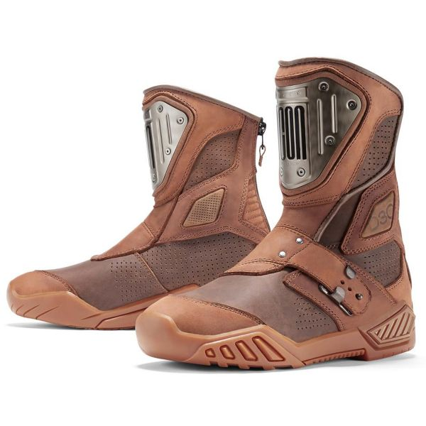 Motorcycle Boots ICON 1000 Retrograde Brown Boots