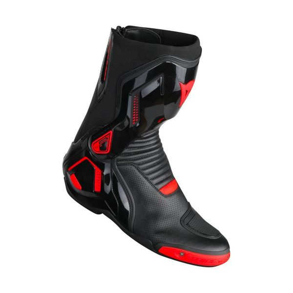Motorcycle Boots Dainese Course D1 Out Air Black Fluo Red