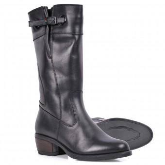 Motorcycle Boots V'Quattro Livia Lady Black