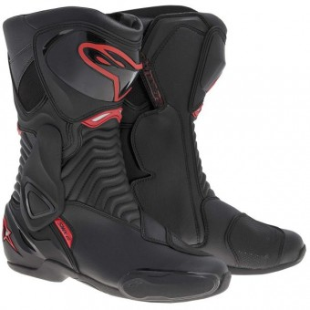 Motorcycle Boots Alpinestars SMX 6 Black Red