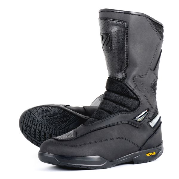 Motorcycle Boots V'Quattro Tourer WP Black
