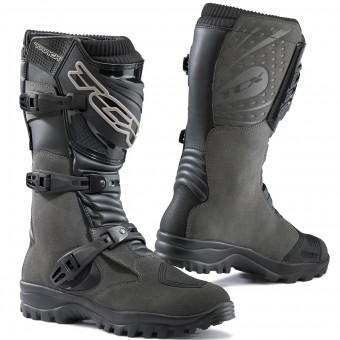 Motorcycle Boots TCX Track Evo Waterproof Grey
