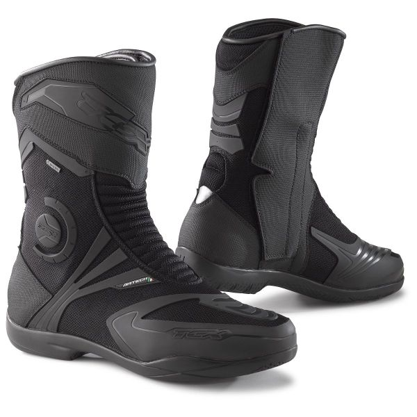 Motorcycle Boots TCX Airtech Evo Gore-Tex Black