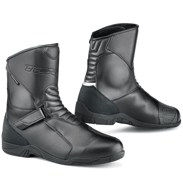 Motorcycle Boots TCX Hub Waterproof Black
