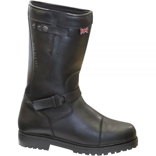 Motorcycle Boots Merlin Keele Black Boots