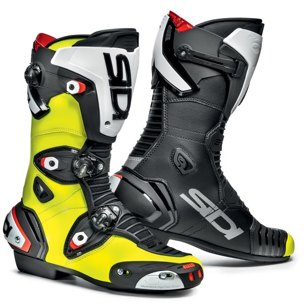 Motorcycle Boots SIDI Mag 1 Black Yellow Fluo