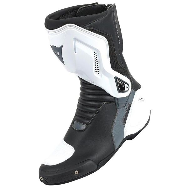 Motorcycle Boots Dainese Nexus Black White Anthracite