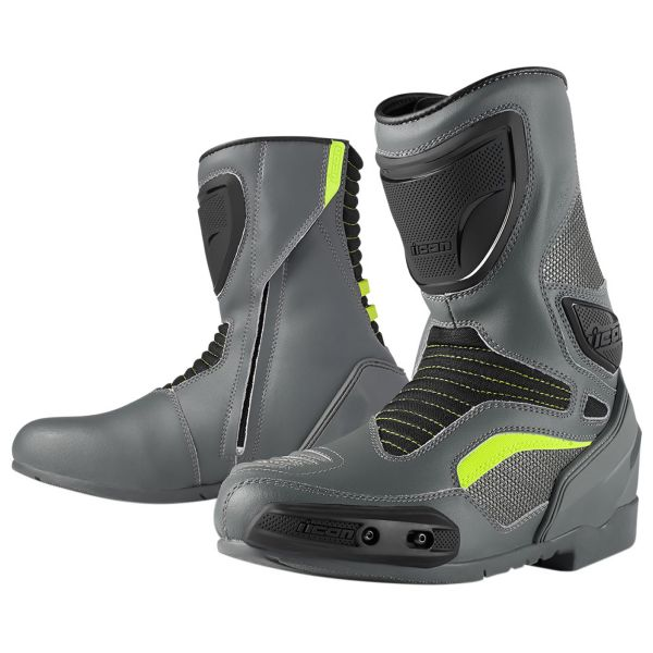 Motorcycle Boots ICON Overlord Boot Grey