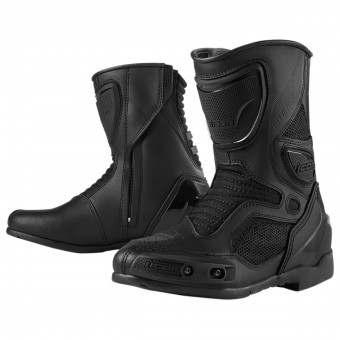 Motorcycle Boots ICON Overlord Women Boot Stealth