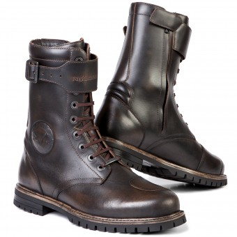 Motorcycle Boots Stylmartin Rocket Brown
