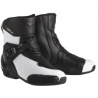 Mid-Boots Alpinestars S-MX 3 Black White Vented