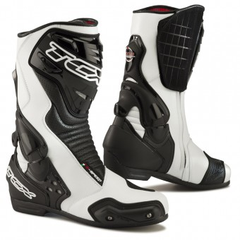 Motorcycle Boots TCX S-Speed White Black
