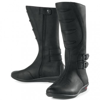 Motorcycle Boots ICON Sacred Black