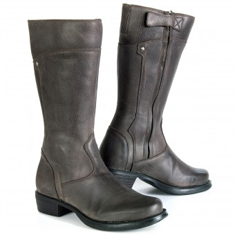 Motorcycle Boots Stylmartin Sharon Lady Brown