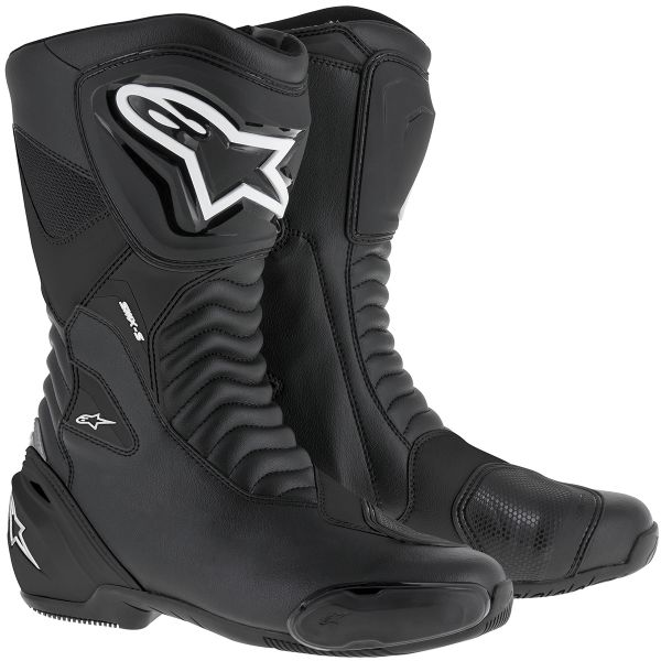 Motorcycle Boots Alpinestars SMX S Black