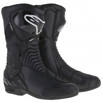 Motorcycle Boots Alpinestars Stella SMX-6 Waterproof Black