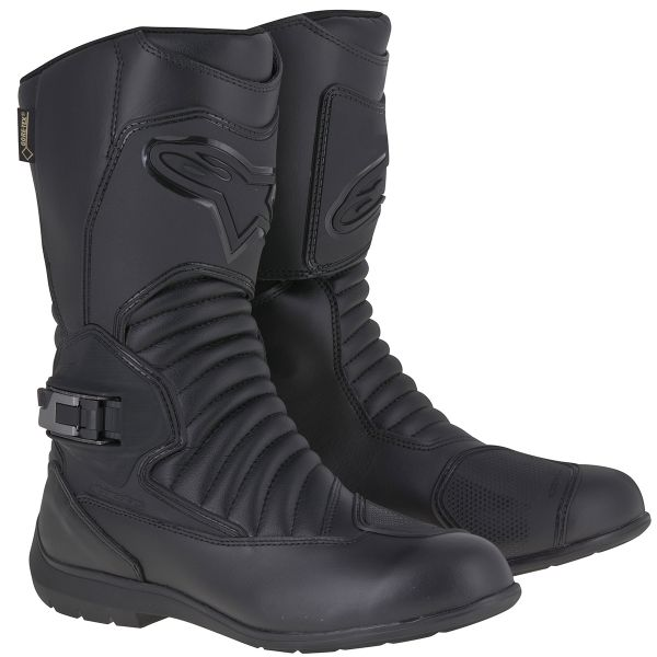 Motorcycle Boots Alpinestars Super Touring Gore-Tex Black