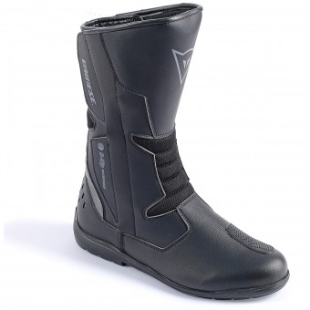 Motorcycle Boots Dainese Tempest Lady D-Waterproof Black Carbon