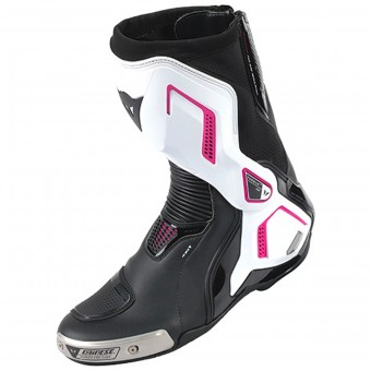 Motorcycle Boots Dainese Torque D1 Out Lady Black Fuschia