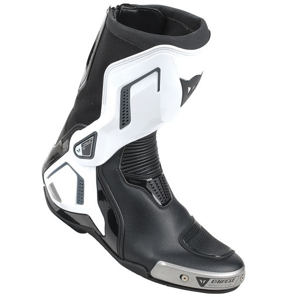Motorcycle Boots Dainese Torque Out D1 Black White