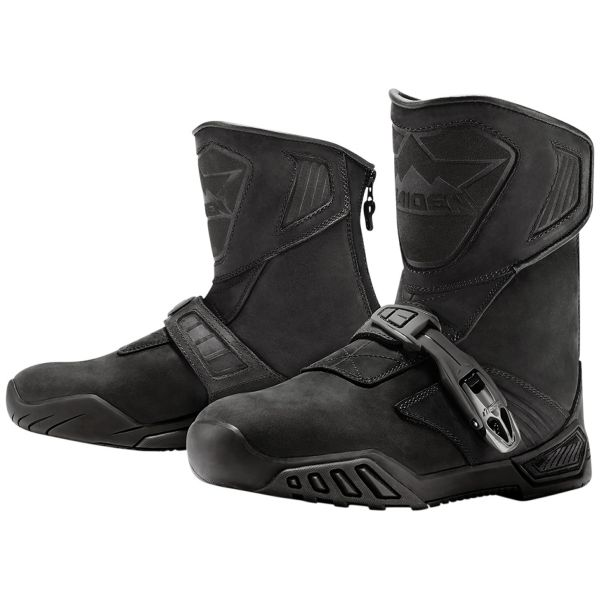 Motorcycle Boots ICON Treadwell Waterproof Stealth