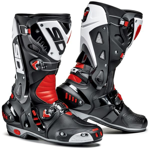 Motorcycle Boots SIDI Vortice Black Red White