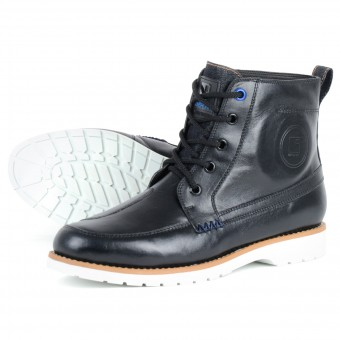 Motorcycle Shoes Overlap 11 Black
