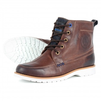 Motorcycle Shoes Overlap 11 Brown