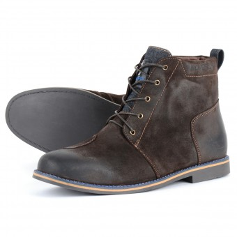 Motorcycle Shoes Overlap 79 Suede