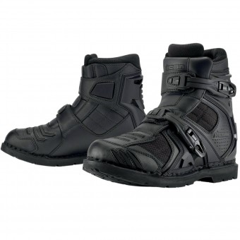 Motorcycle Shoes ICON Field Armor 2 Black