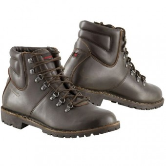 Motorcycle Shoes Stylmartin Red Rock Brown