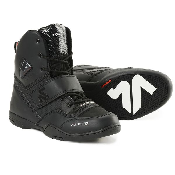 Motorcycle Trainers V'Quattro San Remo Black