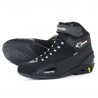 Motorcycle Shoes V'Quattro Supersport WP Black
